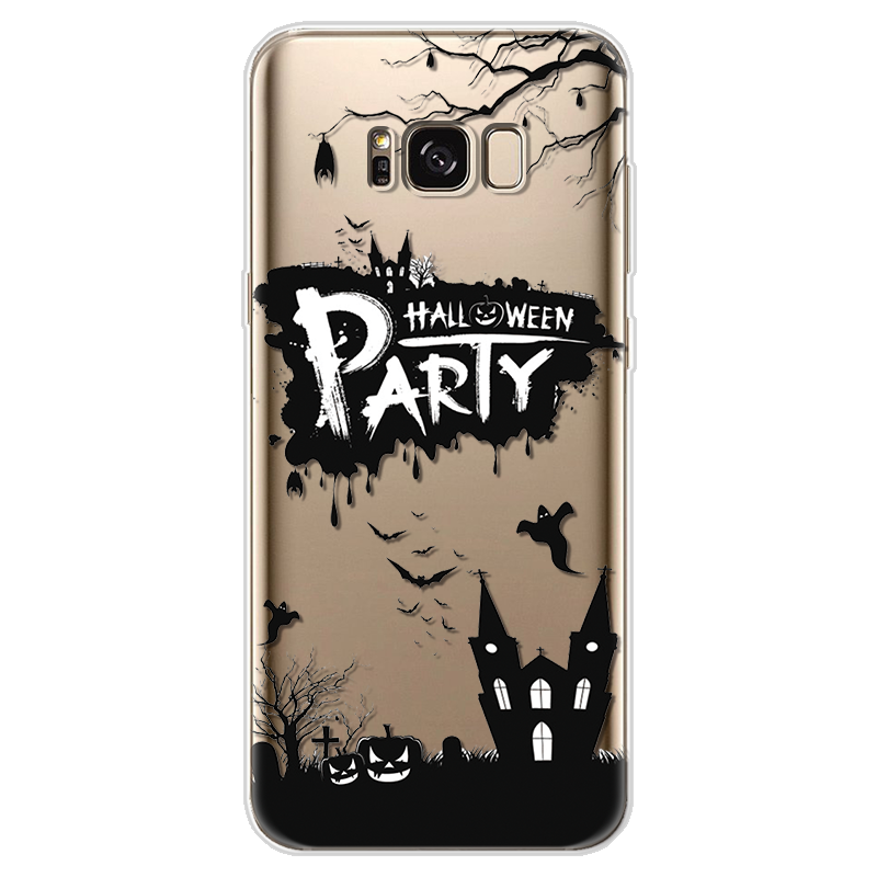 US $1 01 14% OFF|Theme Case For Samsung Galaxy J2 J3 J5 J7 Prime S6 S7 Edge  S8 S9 Plus A3 A5 A6 A8 Note 8 9 2016 2017 2018 TPU Halloween Cover-in