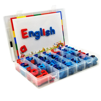 Magnetic English letter Learning English words magnet EVA English letters Numbers fridge magnet Washable early education toys