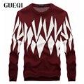 Ugly Sweater Christmas 2015 Mens Otoño Invierno Vestido de Suéter de Lana Merino Tire Noel Caliente Jumpers Pullover 2 Colores 0163