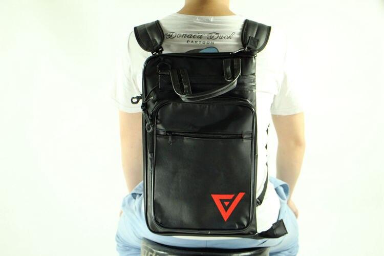 Sacs à dos en cuir grand sac à tambour étui 5B 5A Kit de tambour de haute qualité couleur accessoires d'exportation pièces plus de Pro Musical