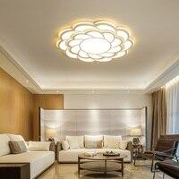 Acrylic Modern LED chandeliers For Bedroom Living room Restuarant Home Lighting White Led Ceiling Chandelier Lighting Fixtures