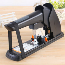 210 sheets Deli stationery thick layer deli 0383 heavy duty manual jumbo stapler Large thickening effortless heavy duty stapler 2017 one piece new valuable 2016 deli 0399 210 pages thick stapler hot sale random color delivery