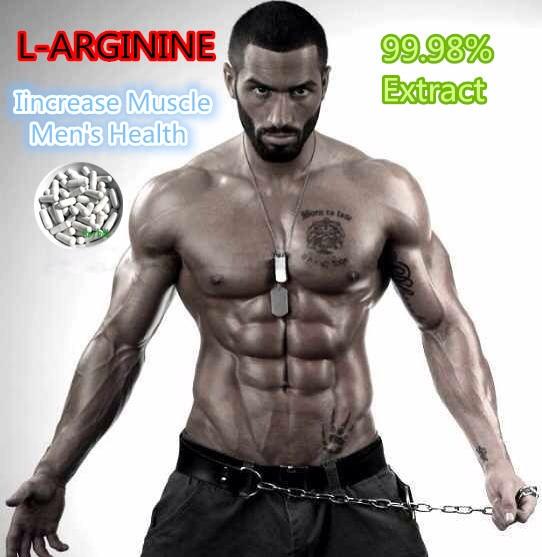 Muscle Building L- ARGININE supplements increase muscle s
