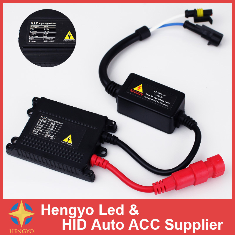 1 PCS Car Xenon Replacement Ballast AC Slim HID 35W Xenon Electronic Digital Conversion Ballast Kit For H1 H3 H4-1 H7 H11 H13 200mw green laser module with line shape beam with cooling device and power adapter ac110 240v plug and use long time work