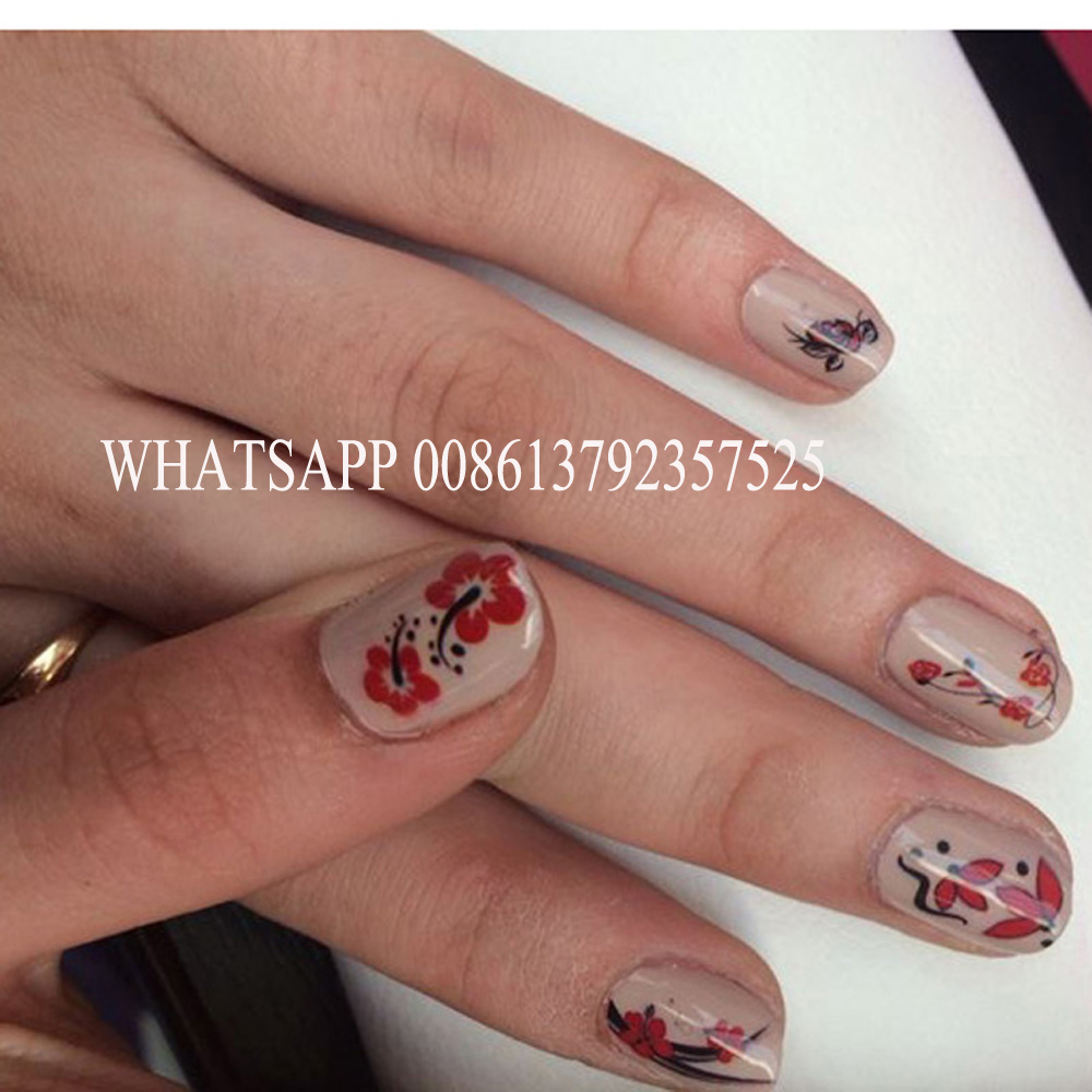 5 nails painting a time CE approved nails printing machine digital ...