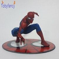 Spiderman Action Figure ARTFX The Amazing Spider Man 130MM Anime Superhero Spider Man Collectible Model Toys