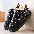 Las mujeres de Invierno Botas de Nieve Botas Femeninas Impermeables Planas Calientes Botines Para Mujer de Invierno Zapatos de Plataforma Calzado Mujer Tamaño 40