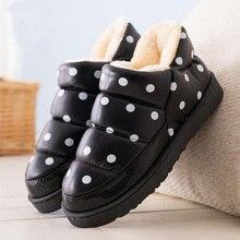 Women Winter Snow Boots Botas Femininas Flat Waterproof Warm Ankle Boots For Women Winter Platform Shoes Calzado Mujer Size 40
