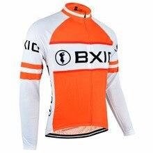 Invierno Ciclismo ropa Térmica Fleece Ciclismo Jersey Sólo Ropa Bxio Ciclis Pro Bike Team MTB Bicicleta Jersey Ropa 014j