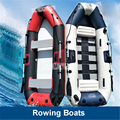 5 Adults Super Thickening Inflatable Rowing Boat 5 Persons 265*125*31 CM Boat Inflatable Rowing Boat with Spare Parts