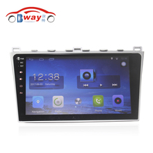 Бесплатная доставка 10.2 «Android 6.0.1 Car DVD видео плеер для Mazda 6 2008-2010 gps-навигации Bluetooth, радио, Wi-Fi, DVR