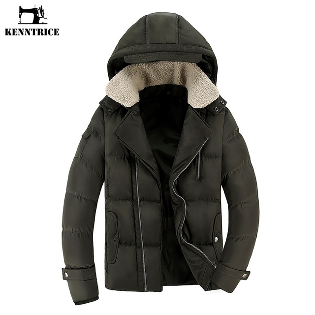 Aliexpress.com : Buy KENNTRICE Mens Winter Parkas Puffer Jacket ...