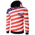 Hot!!!Men 3D Hoodies Long Sleeve With Hood Men Print USA Map Sweatshirt High Quality Men's Tracksuits Moleton Masculino
