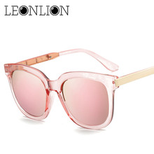 LeonLion 2020 Top Brand Designer Sunglasses Women Men Luxury Round Candies Lens Lady Round Sun Glasses Classic Retro Goggle