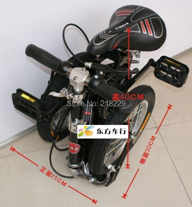 To  Singapore Japan asian free !! 12'' inch mini folding bicycle/folding bike  the special gift/ various color /portable bike buy monitor in singapore