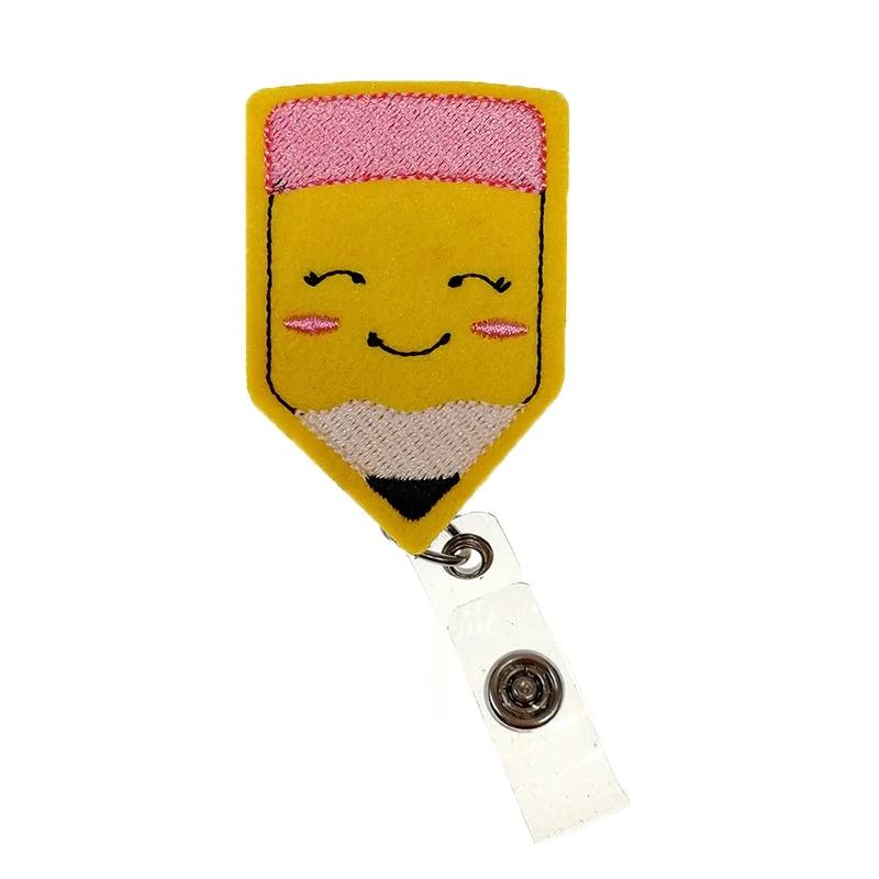 Pencil Badge Reel Badge Reel Teacher Badge Reel