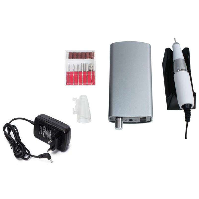 35000 Rpm Cordless Nail File Drill Kit Electric Manicure Pedicure Nail Art Machine 18W Portable Charging Nail Polisher35000 Rpm Cordless Nail File Drill Kit Electric Manicure Pedicure Nail Art Machine 18W Portable Charging Nail Polisher