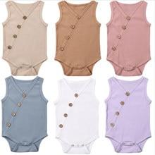 Macacão infantil para verão, roupas para recém-nascidos, meninos e meninas, macacão de algodão macio, roupa de body para crianças de 0 a 24 meses, 2019