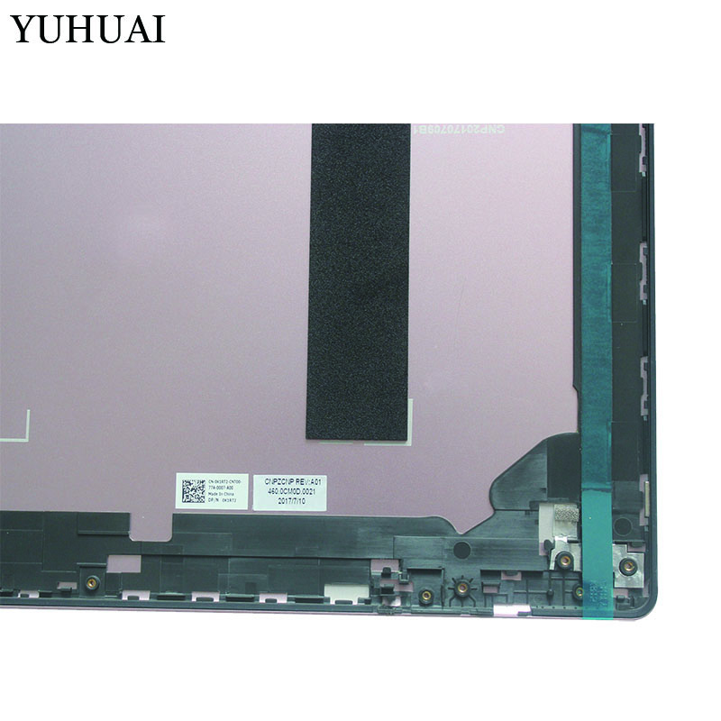 Nouvelle couverture arrière rose LCD pour Dell Inspiron 15D 7000 7570 0K1RT2 avec touche - 3