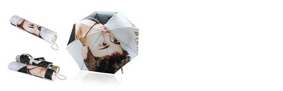 Fashion Design Umbrella Custom Michael Jackson Auto Folding Umbrella For Man And Women Free Shipping UPC-020