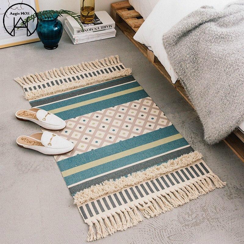 Nouveau tapis de porte de salle de bain nordique tapis de salle de bain absorbant tapis de décoration de mariage tapis de sol antidérapant 60 CM X 90 CM
