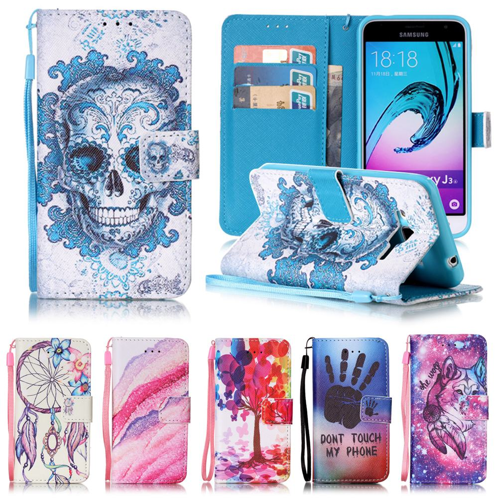 for coque samsung galaxy j3 case flip leather wallet silicone cover samsung galaxy j3 2016. Black Bedroom Furniture Sets. Home Design Ideas