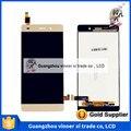 Preço de fábrica do telefone móvel lcd display lcd de tela de substituição para huawei p8 lite frete grátis