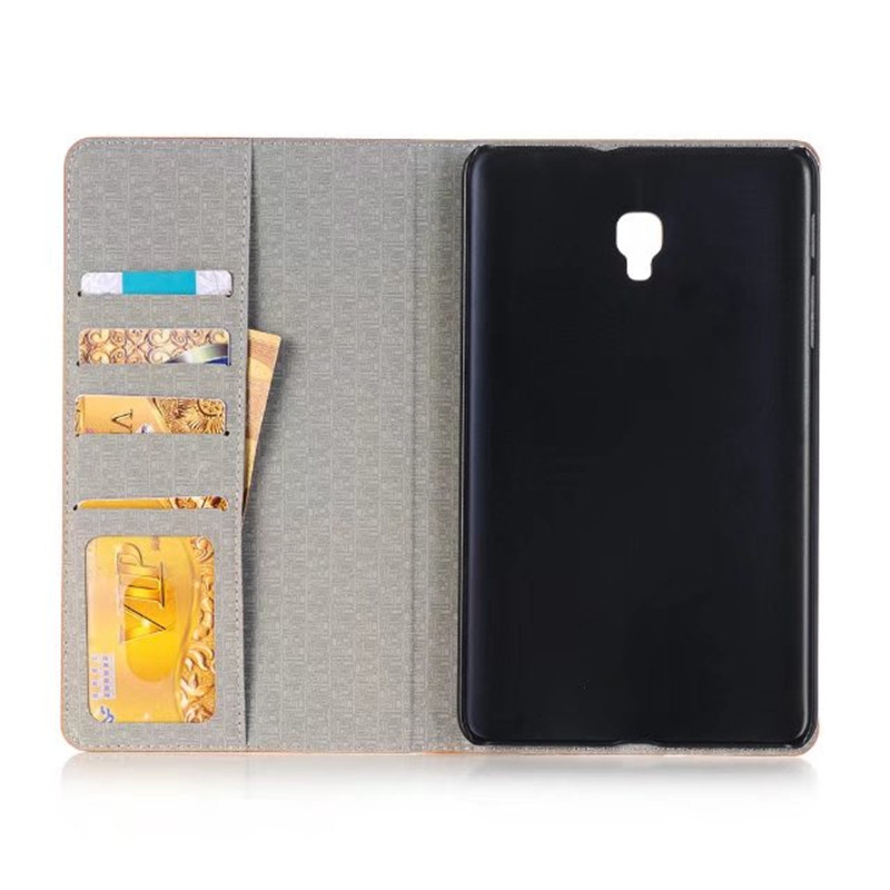Magnet Luxury Stand Pu Leather Case Cover For Samsung Galaxy Tab A 8.0 2017 T380 T385 SM-T385 Tablet Funda Cases