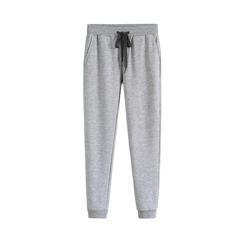 Al aire libre de los hombres de deportes cesta de fútbol pantalones largos pantalones de elástico apretado pies Otoño e Invierno pantalones casuales AXM12