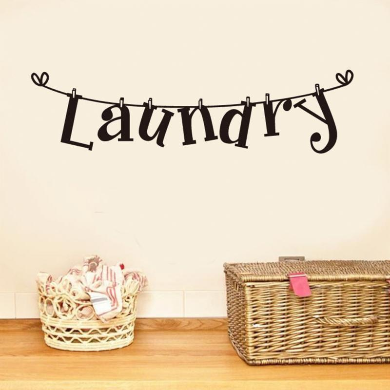 Popular Wall Decals QuotesBuy Cheap Wall Decals Quotes Lots From - Custom vinyl wall decals sayings for laundry room
