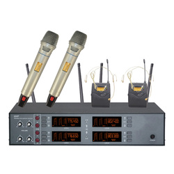 Packet mail R-842 dual channel wireless microphone wireless microphone speaker microphone two microphones