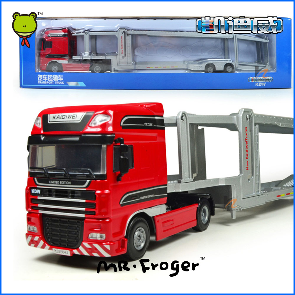 ФОТО Mr.Froger Transport Truck Model Refined metal alloy car model Refined metal Engineering Construction vehicles truck Decoration