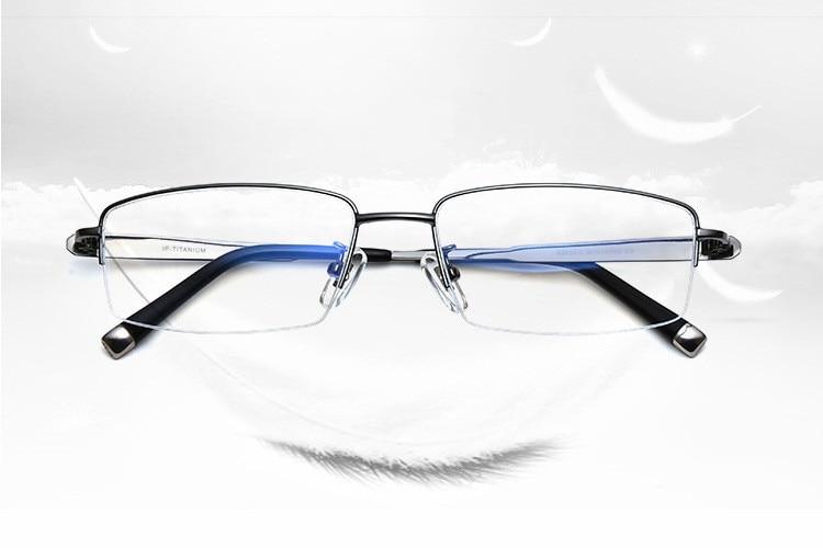 699188199a 2019 BINYEAE Brand Pure Titanium Eye Glasses Super Quality Light ...