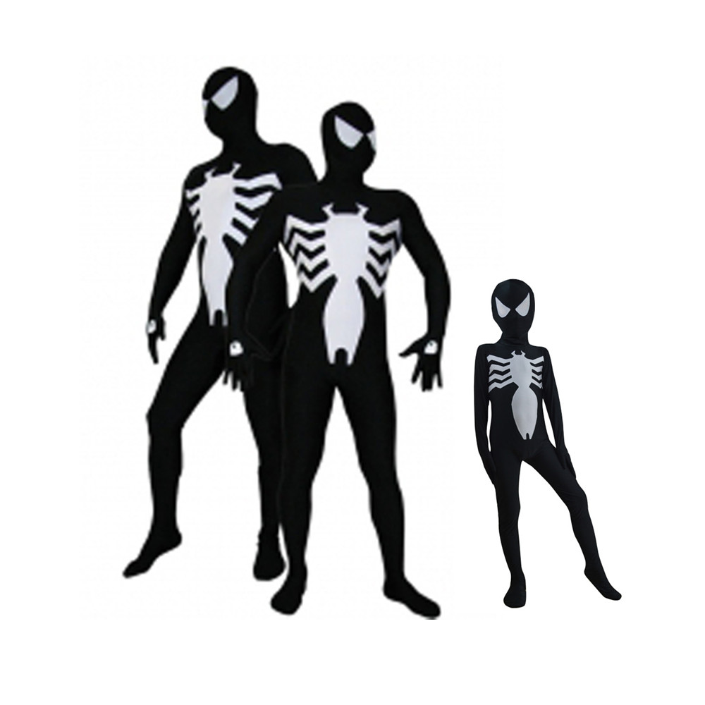 rojo negro spiderman spiderman cosplay traje de hombre araa traje disfraces para adultos nios