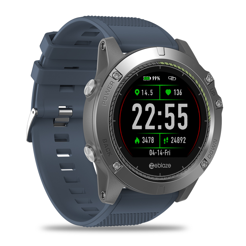 Us 34 99 40 Off New Zeblaze Vibe 3 Hr Smartwatch Ip67 Waterproof Wearable Device Heart Rate Monitor Ips Color Display Sport Smart Watch In Smart