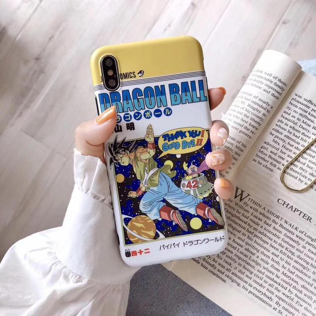 Dragon Ball Soft Cover Case for iphone Models