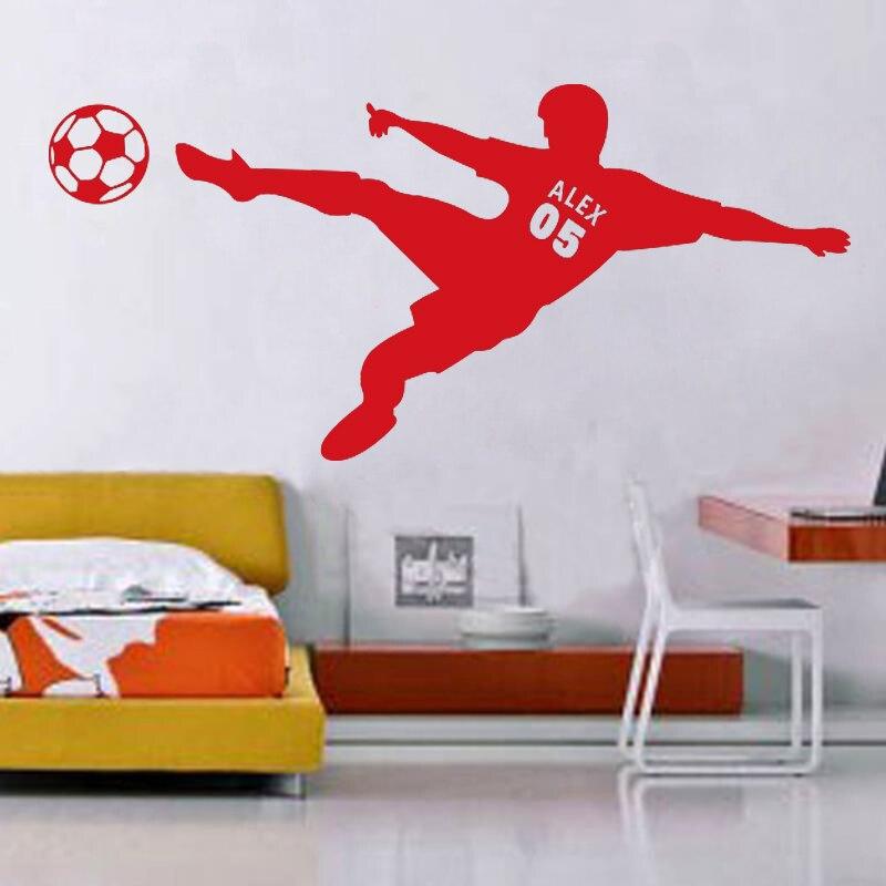 Calcio adesivi per pareti acquista a poco prezzo calcio adesivi ...