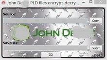 Джон PLD файлы зашифровать  расшифровать инструмент Редактор (Учебники включены как использовать Инструмент) + Полезной Нагрузки PLD файлы Calibartion Файлы