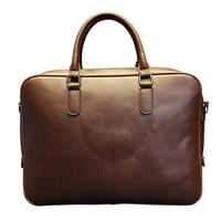 Men S Laptop Bag 13 3 Notebook Business Handbag Cross Section Shoulder Messenger Bag Casual Briefcase
