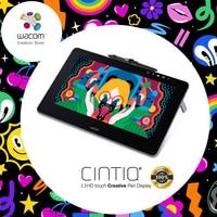 Wacom Cintiq Pro DTH 1320 Creative Pen Display Drawing Tablet Monitor 8192 Pressure Level DHL / EMS Free Shipping