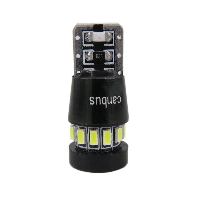 WLJH 2x LED T10 W5W Car LED Auto Lamp 12V լամպեր - Ավտոմեքենայի լույսեր - Լուսանկար 2