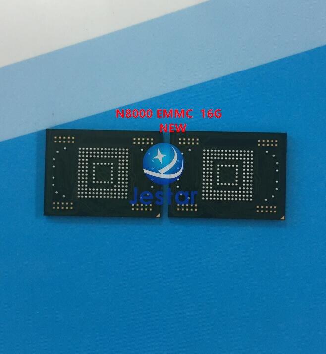 Neue eMMC speicher flash-NAND mit firmware für Samsung Galaxy Note 10,1 N8000 16 gb