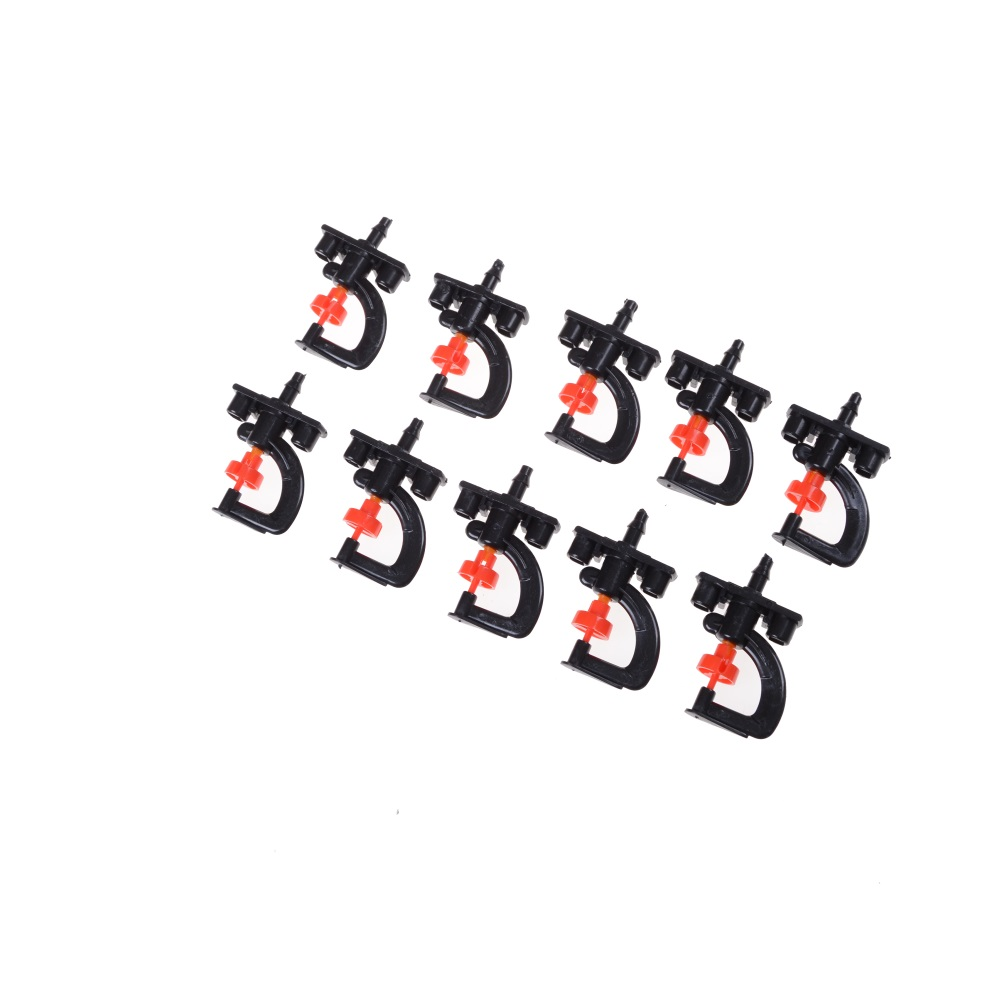 10pcs Garden And Irrigation Heads With 10 X Shelf 360 Degree Micro Adjustable Sprinkler Top Quality New Hot Worldwide Home