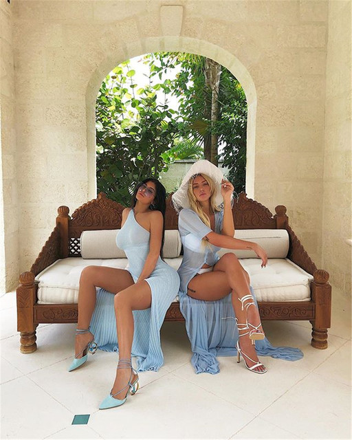 Kylie jenner robe vestidos 2019 Hot sale One Shoulder Split Summer ribbed Dress Women Slim Fit Sexy maxi Long Dress 1