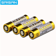 SRISAN 8PCS 27A 12V dry alkaline battery L828 27AE 27MN  A27 for doorbell,car alarm,walkman,car remote control etc