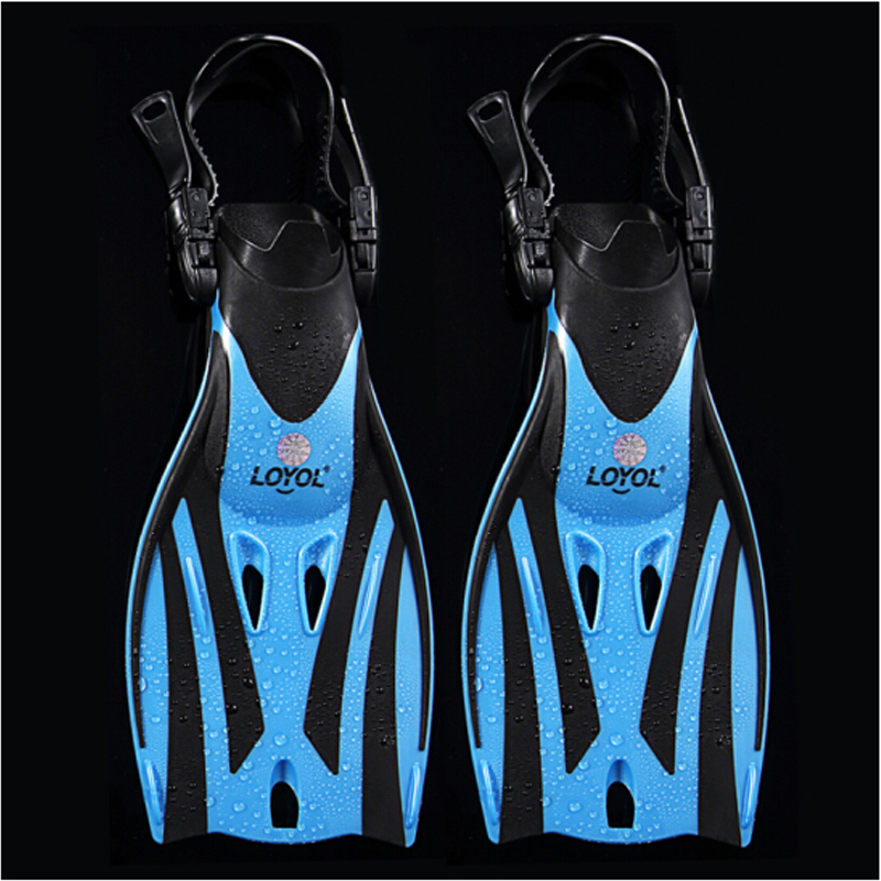 Children Swim Fins Adjustable Diving Frog Shoes Silicone Professional Team Training Snorkeling Long Kids Diving Flippers