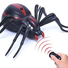 Infrared Remote Control Insect Toys for Children Funny Prank Scary Cockroaches Spider Ants Festival Game RC Robots Animals Toys(China)