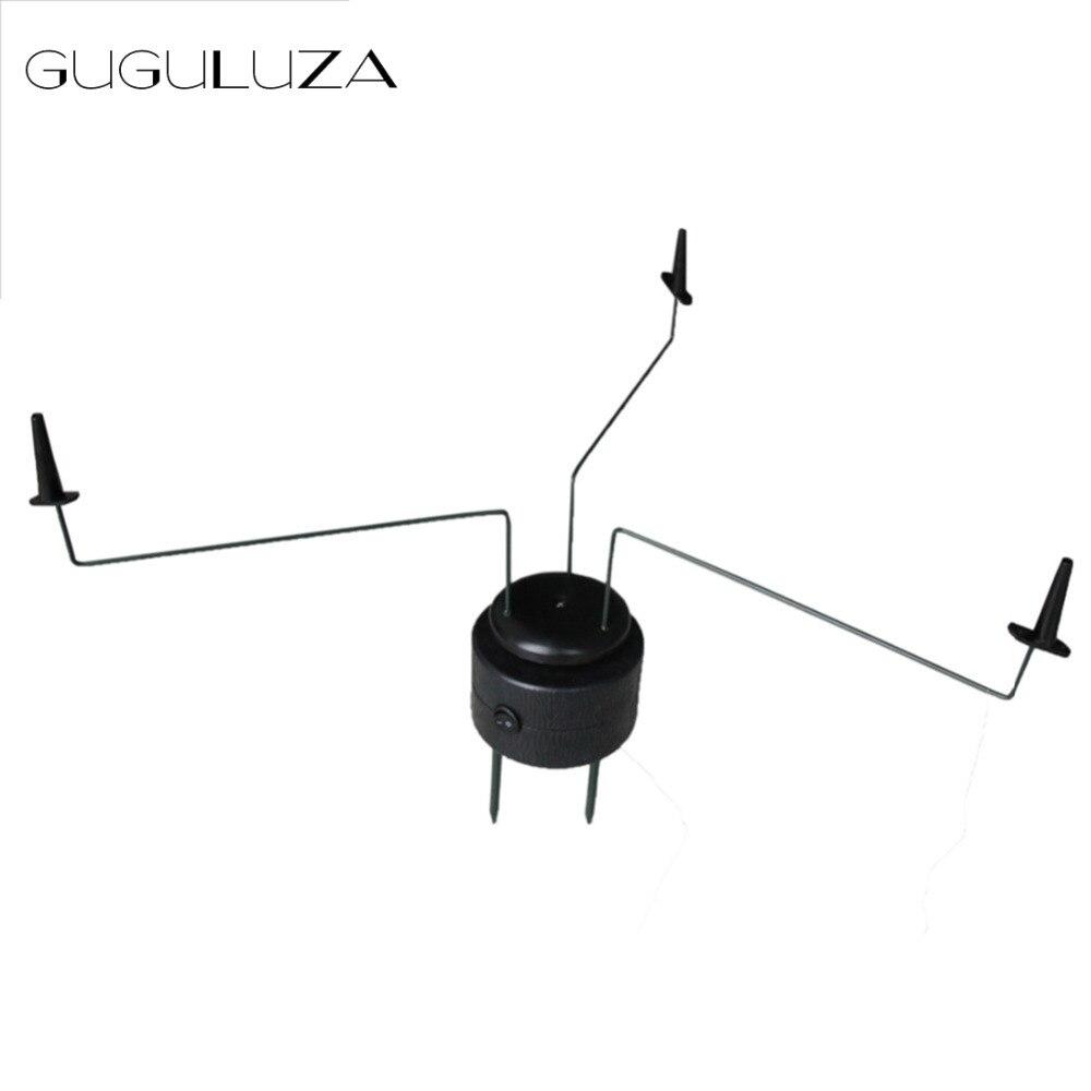 Nouveau GUGULUZA noir Triple PIGEON aimant rotatif chasse leurres tactique traque