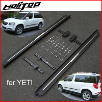Popular side step side bar running board for Skoda YETI , hot sale in China, realiable quality,matured black,promotion price