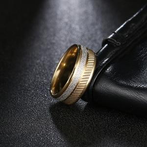 Женские кольца из нержавеющей стали DOTIFI, серебряное матовое кольцо из нержавеющей стали 316L для помолвки и свадьбы